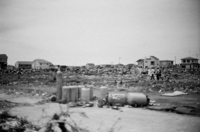 震災から4ヶ月後の石巻でのフィールドワーク